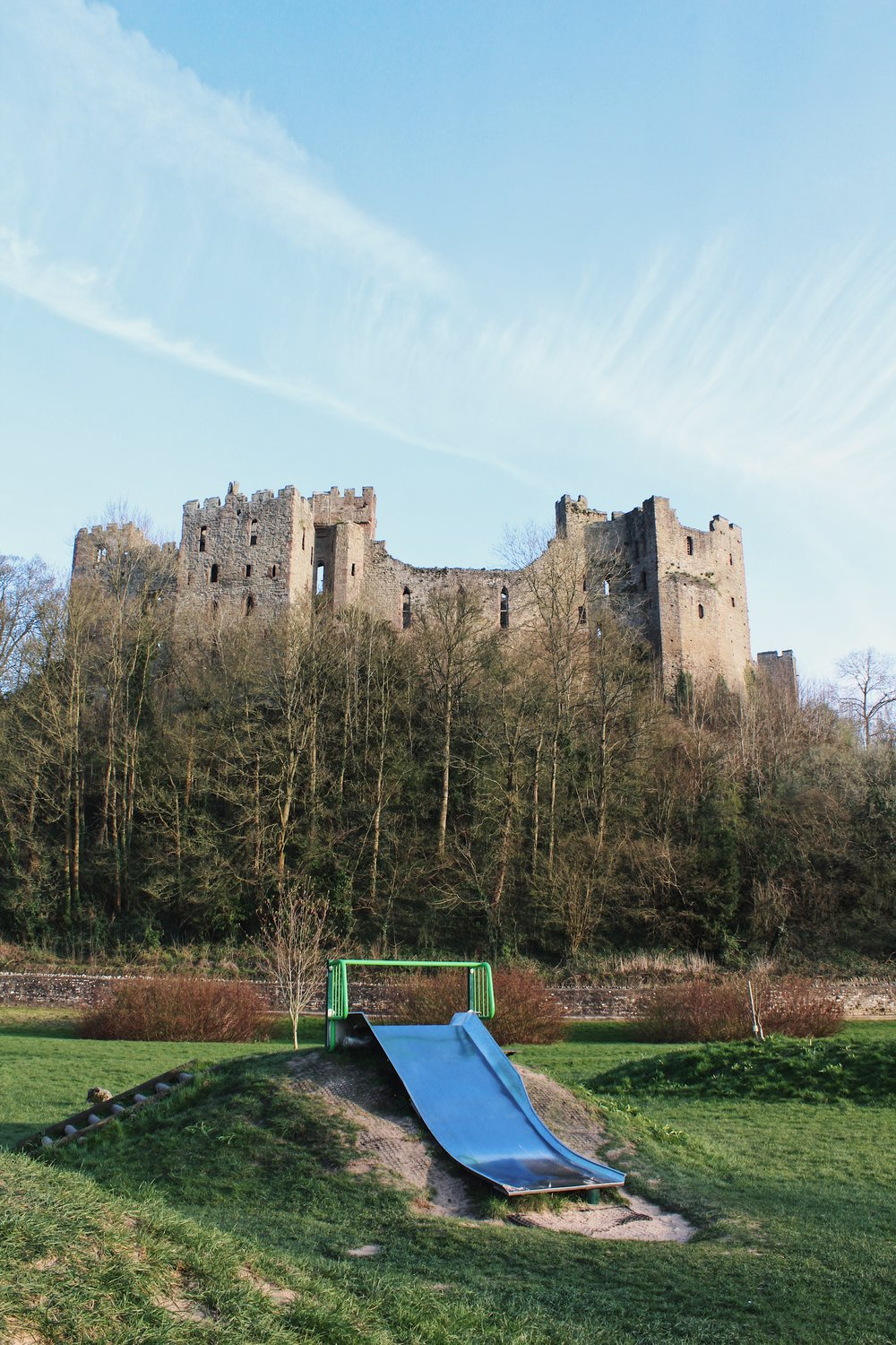 This is surely one of the prettiest parks in England. How many others have a castle in the background?