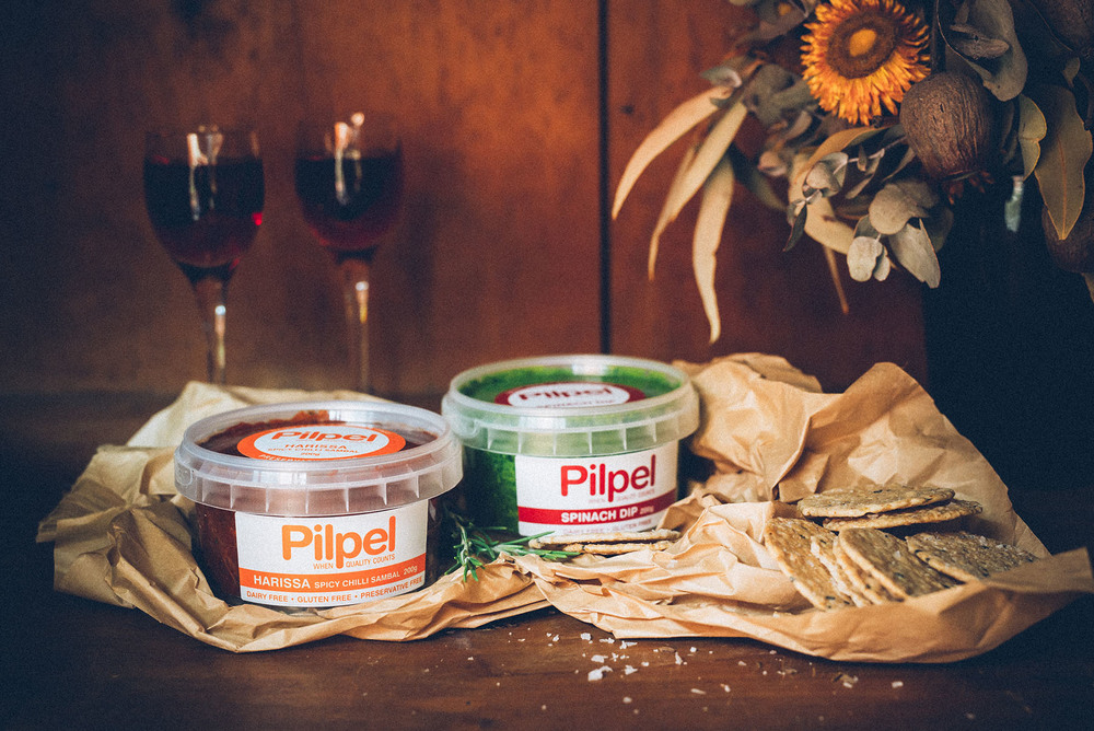 Pilpel Harissa and Spinach dips, the perfect compliment to the perfect proposal in Sydney.