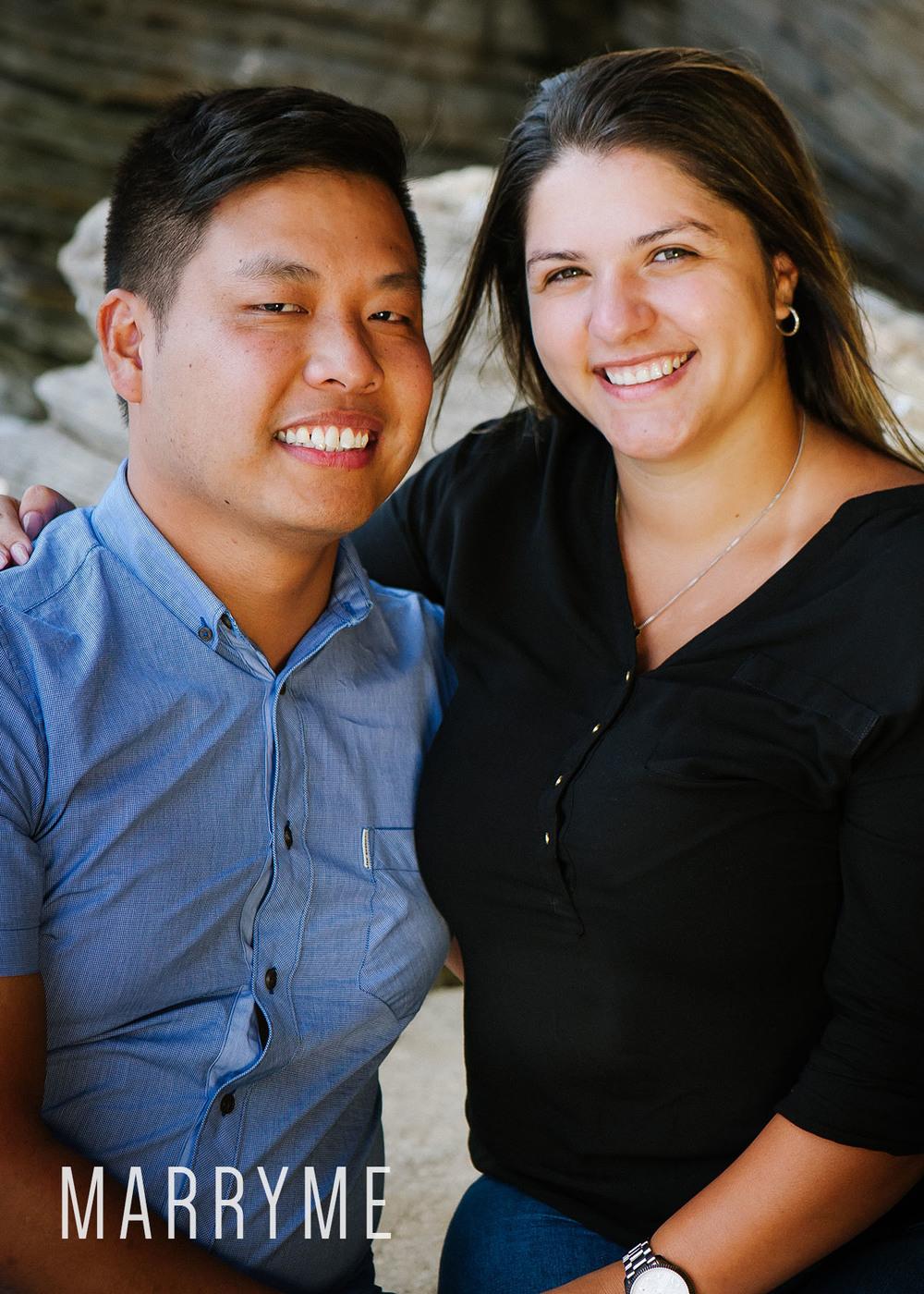 Sydney Harbour Shark Island marriage proposal 5