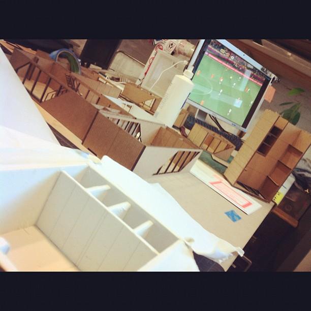 June '12 / Internship LOT-EK / New York          Another day at the office. (Taken with  Instagram  at LOT-EK)