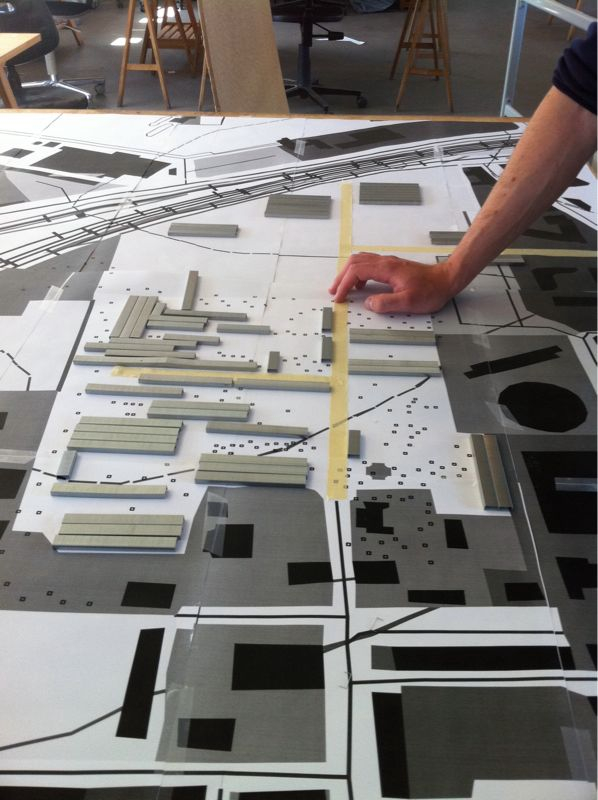 6TH_SEMESTER_URBANISM_MODEL_1:500_MAKING_THE_PLAN