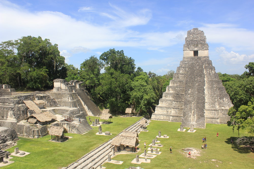 The Grand Plaza at Tikal... WOW!