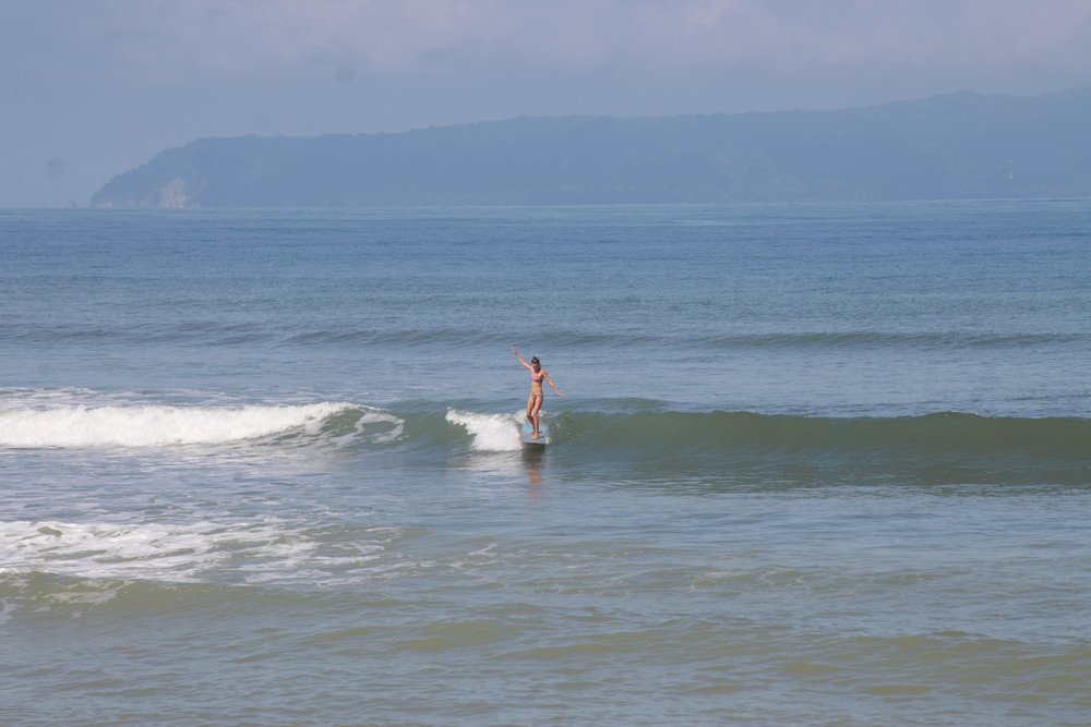 SURFS UP! And yes that is me