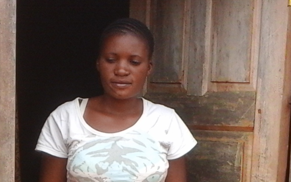 Elizabeth Sanga (26), entrepreneur and mother