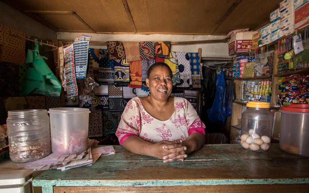 Tanzanian Microfinance Client, 2016
