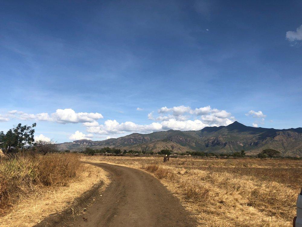 Mount Moroto in Moroto, Uganda.