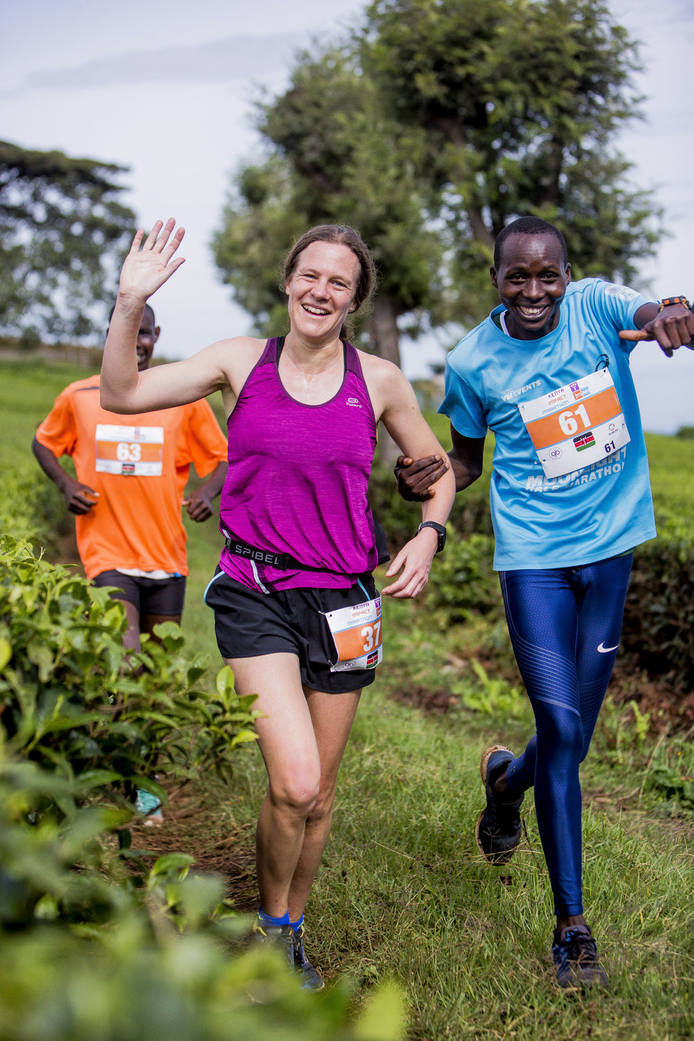We've got  10k, half, and full marathons  on offer in Kericho.  Join with hundreds of Kenyans as we run a stunning route through the cool highlands in the centre of the country.   Click here for more race details.