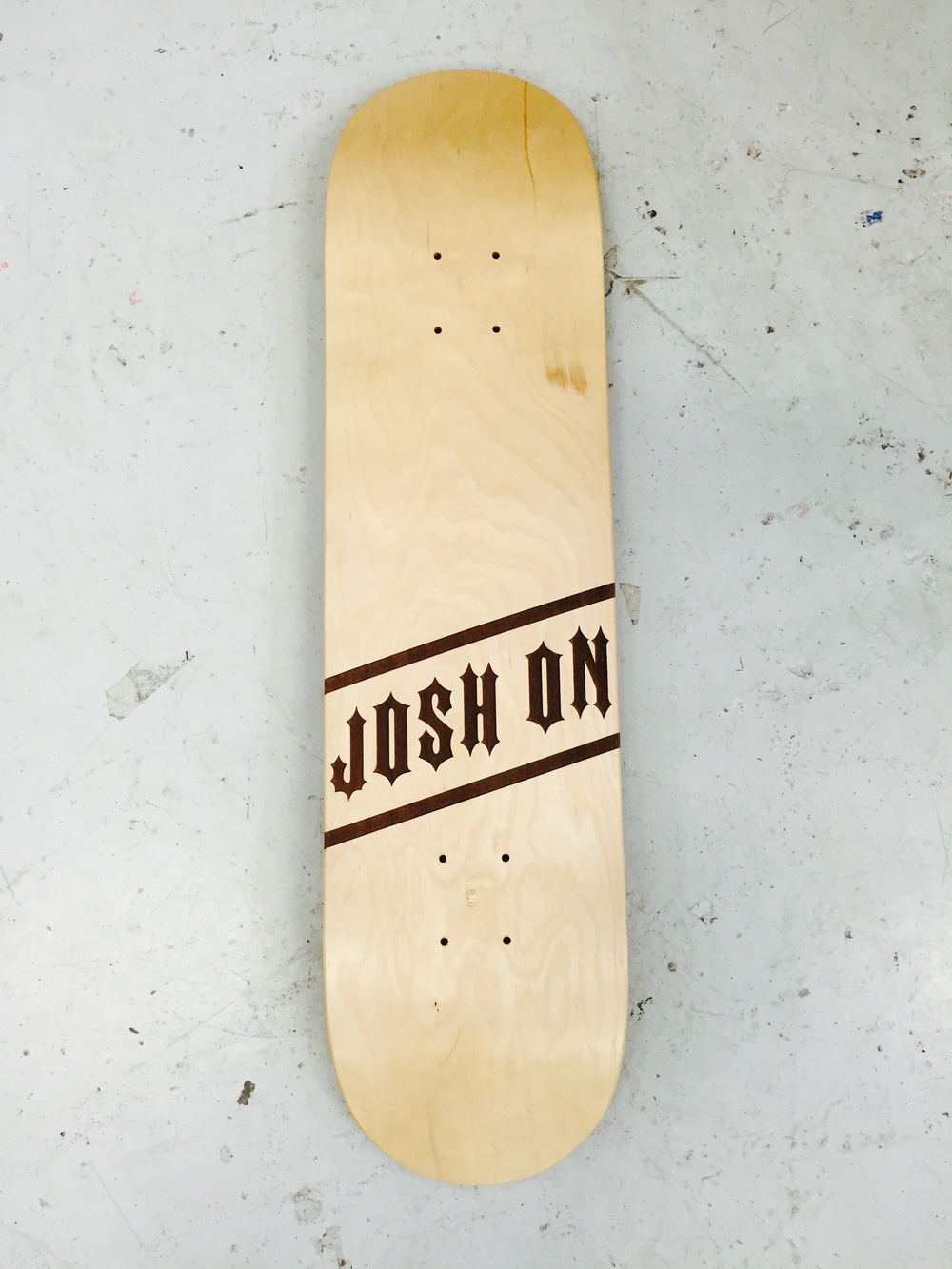 JOSH ON - SKATEBOARDER