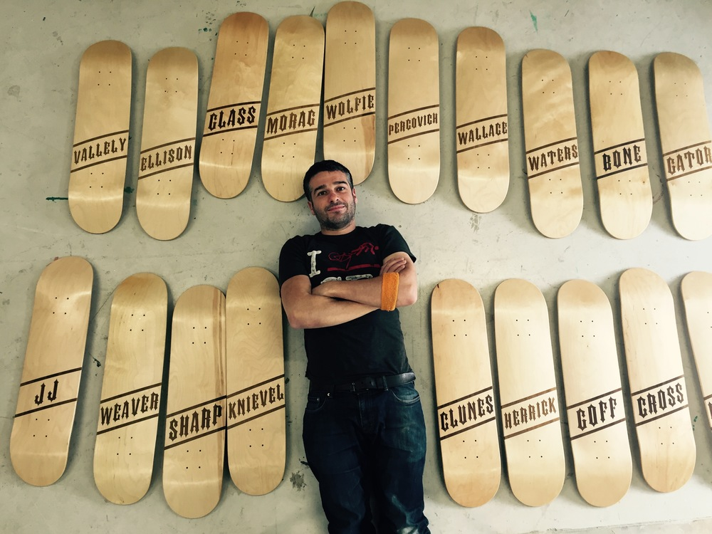 BEN AND SOME BOARDS