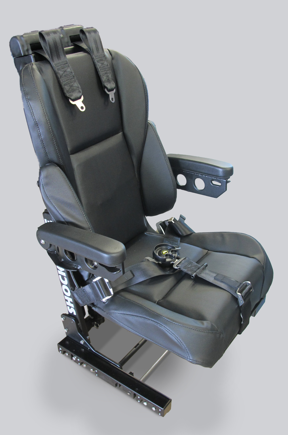 Operators Suspension Seat which was selected by the U.S. Navy for the Landing Craft Air Cushion in 2014.