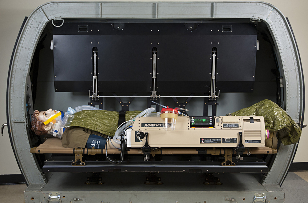 Patient Portable Transport Life Support System (PPTLSS) which was selected by the U.S. Marine Corps in 2014