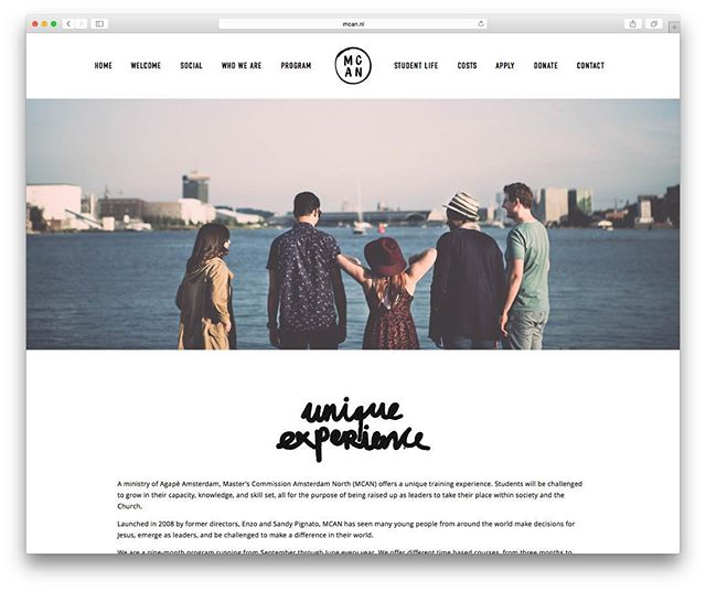 O N L I N E // our new website has just gone up    go check it out @ mcan.nl