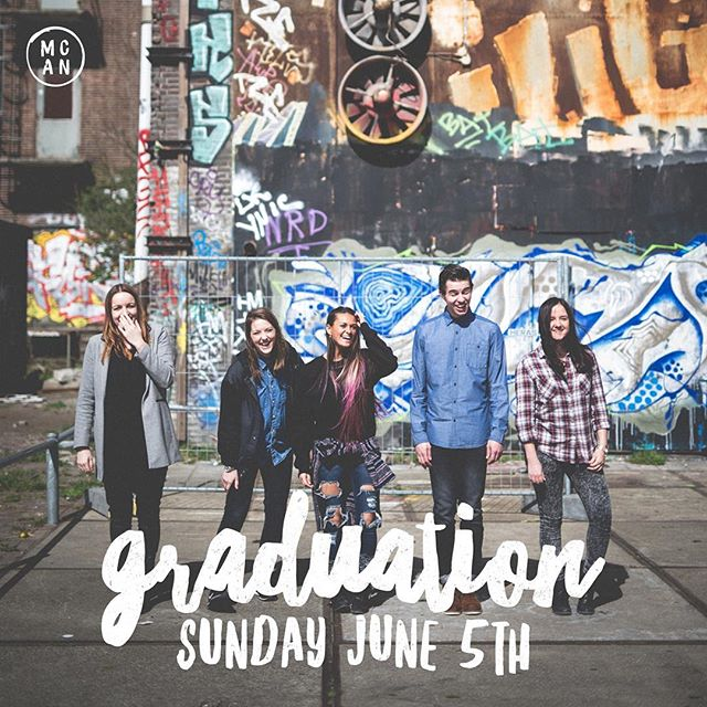 G R A D U A T I O N // This upcoming Sunday is a huge day for our MCAN students. If they have blessed your life this year, make sure you are at @agapeamsterdam to celebrate them as they graduate.