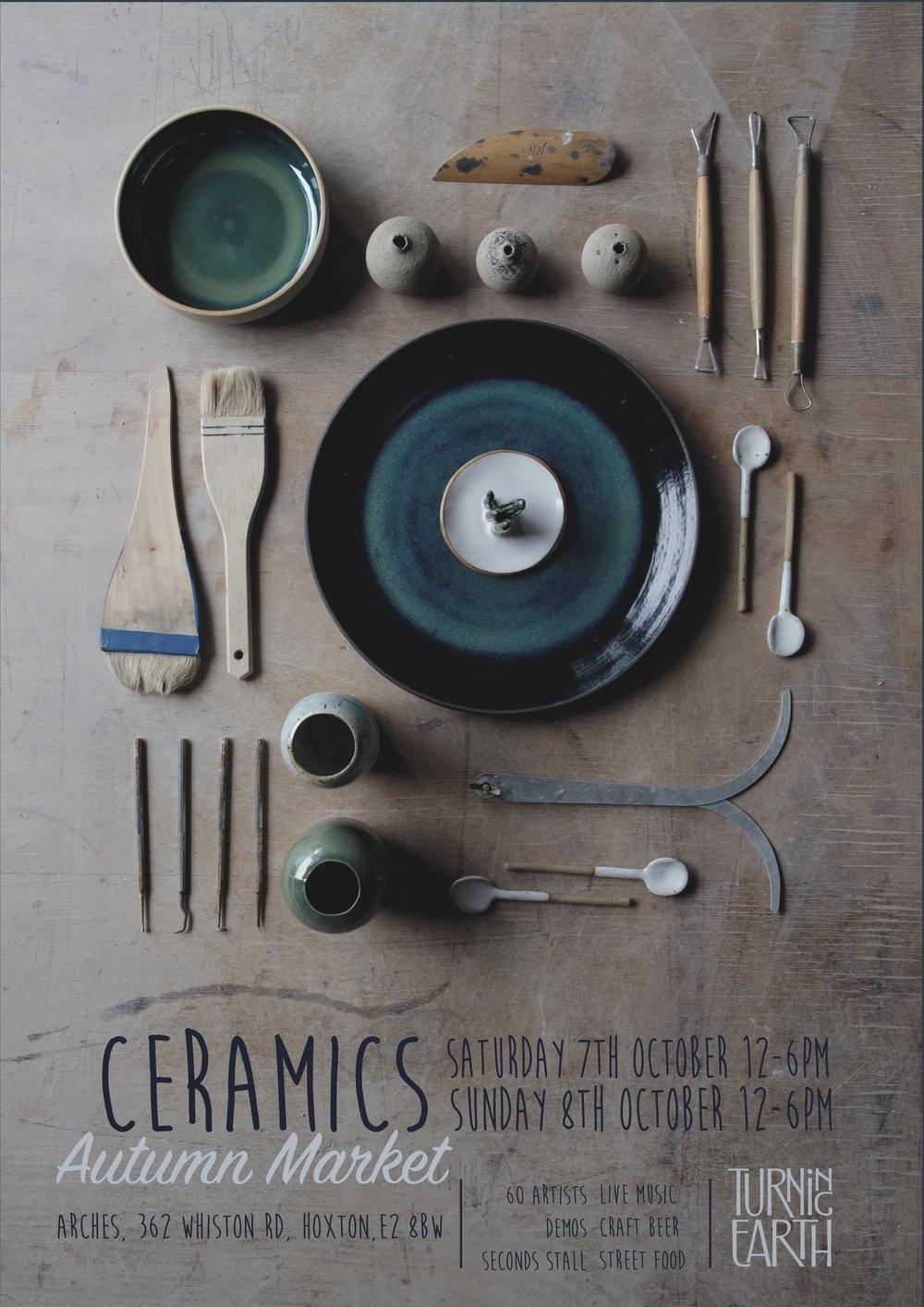 Ceramics Poster Knolling Flatlay