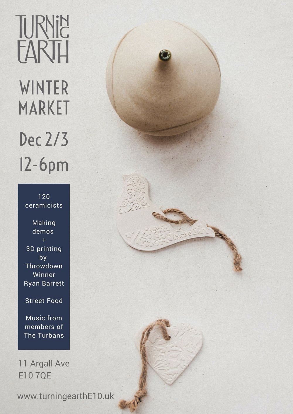 Turning Earth Winter Ceramics Market