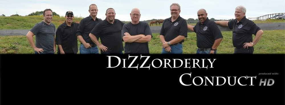 DiZZorderly Conduct are incredibly talented individuals who can bring the absolute best party music from the 60's, 70's and 80's!