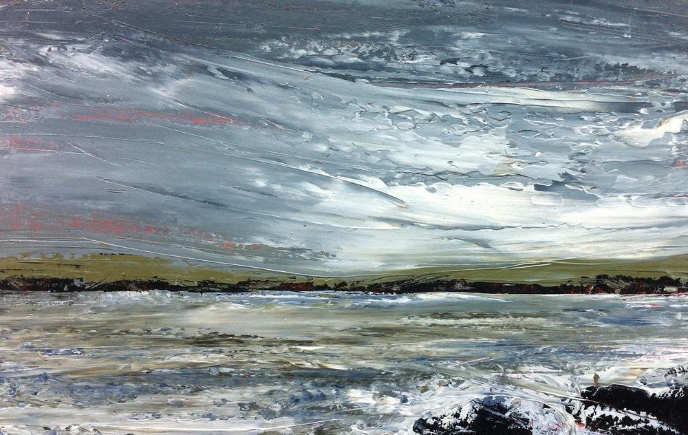 Oil Sketch - Crewe Bay series