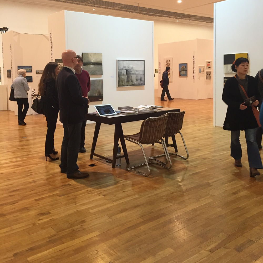 Twenty galleries participated in Ireland's National Contemporary Art Fair this autumn at the RHA, Dublin.