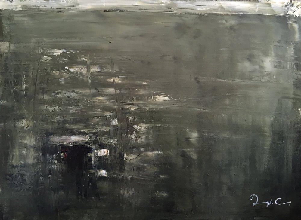 Portal, Skellig Michael  Painting 23cm x 30cm.Frame 41cm x 49cm. Oil on board. €435