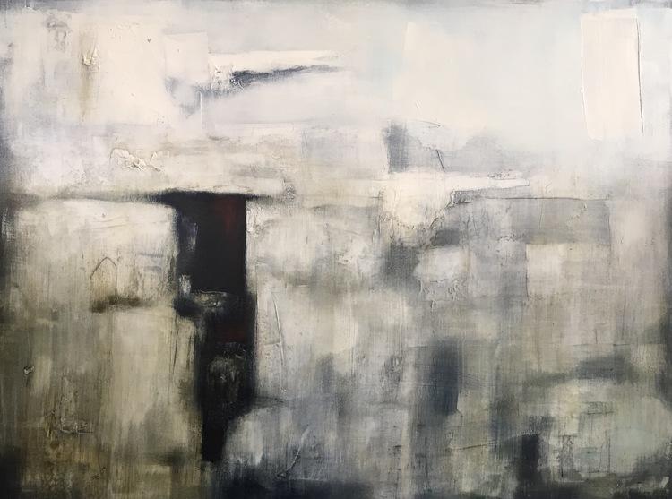 Epoch, Skelligs IV  Oil on canvas, 76cm x 101cm, 2014-2017