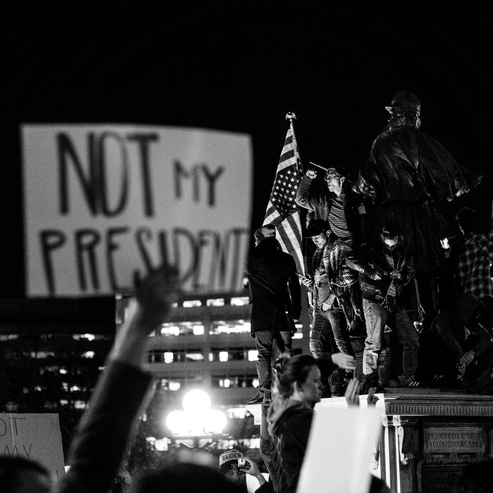 #notmypresident -