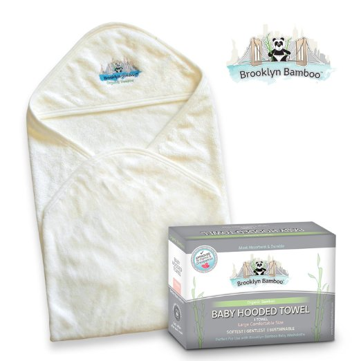 Brooklyn Bamboo Hooded Baby Towel