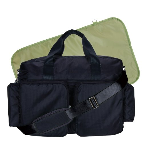 Trend Lab Deluxe Style Diaper Bag