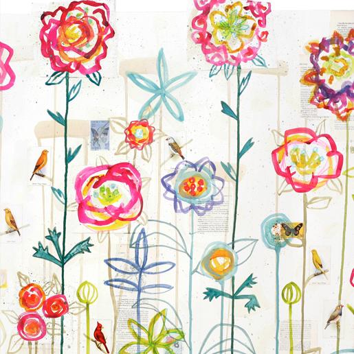 French Flower Garden by Kirsten