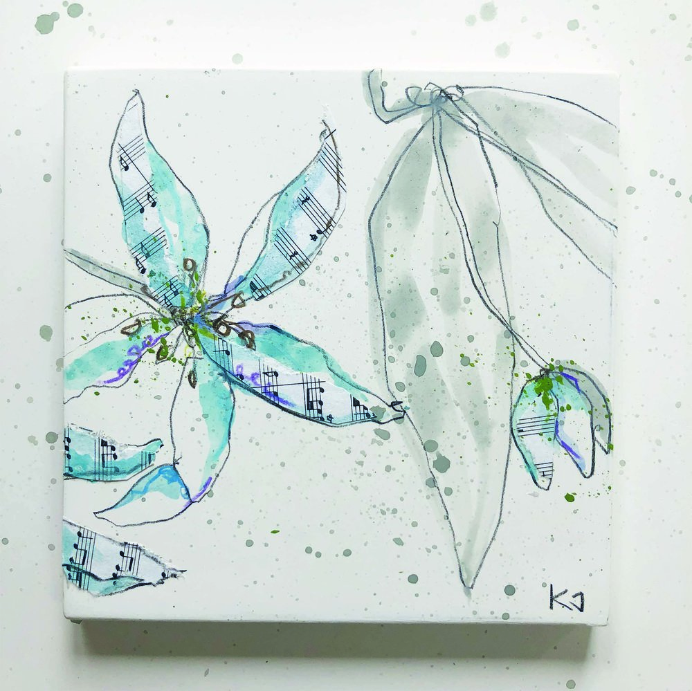 White Flowers 1