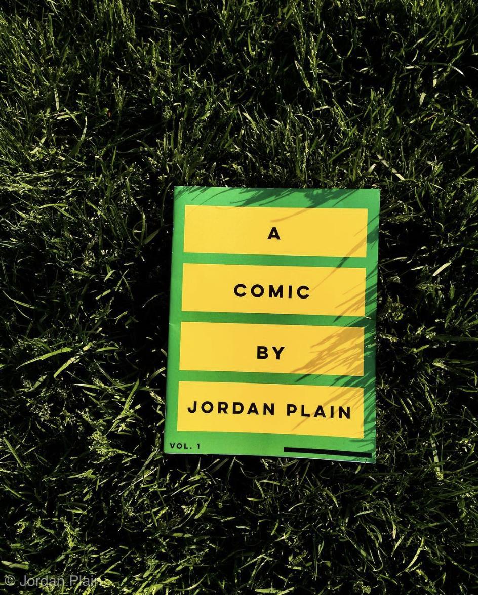 A Comic Book By Jordan Plain, $20 USD | Click  Here