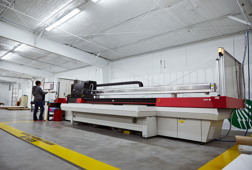 Agfa Titan UV Printer 5'x10'