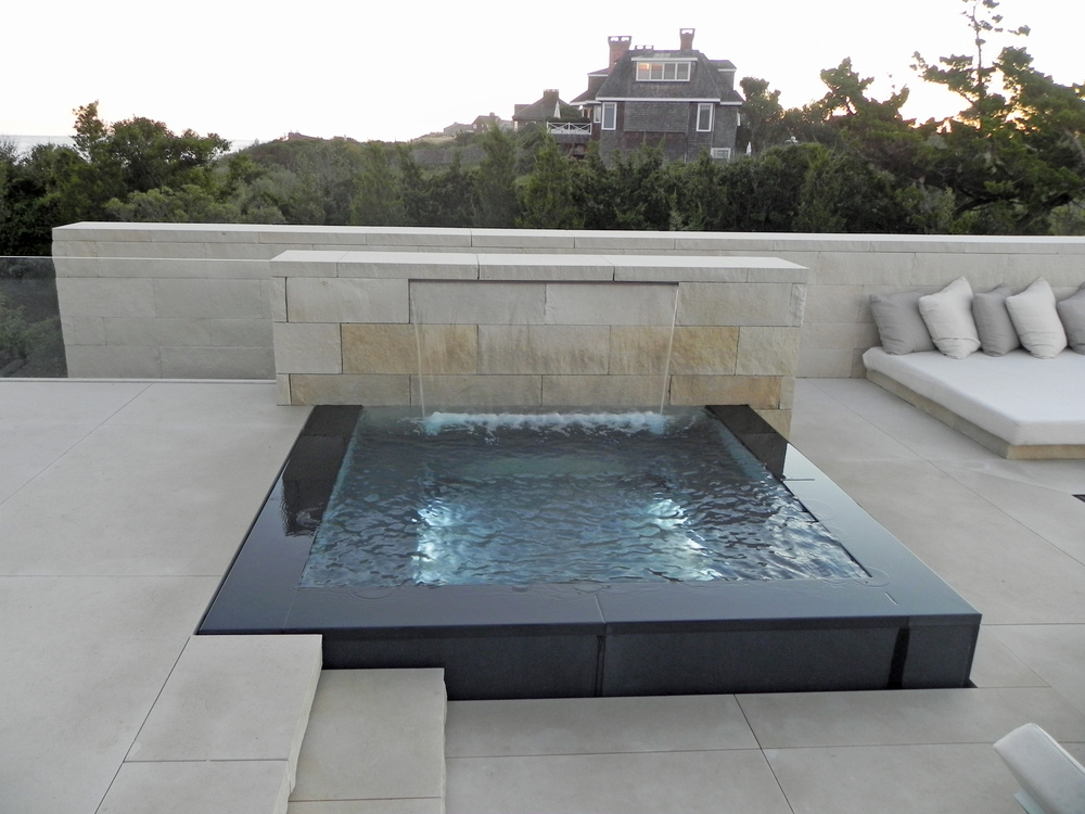 Pelican Pools - Gold, Custom Spa