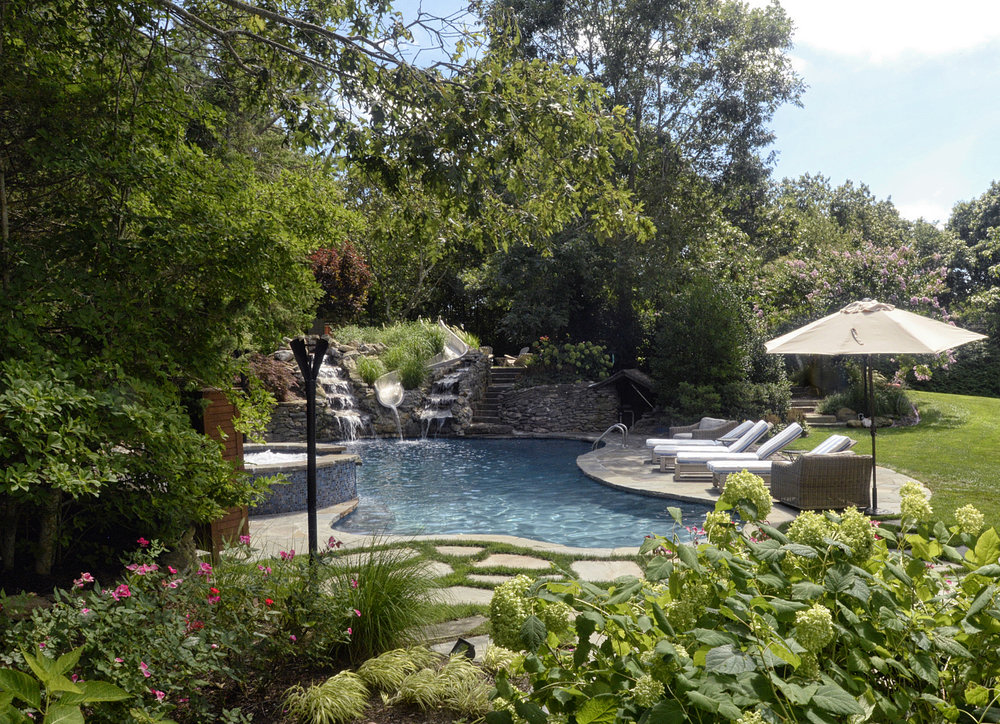 Gold - Pool/Spa Combo Gunite        Silver - Gunite Freeform Swimming Pools by Jack Anthony