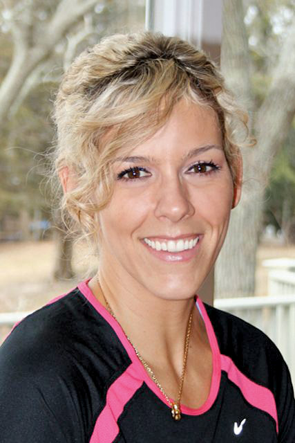 Paige Romanowski, certified personal trainer, is the owner of BodyRite Training in Jamesport, NY. bodyritetraining.com