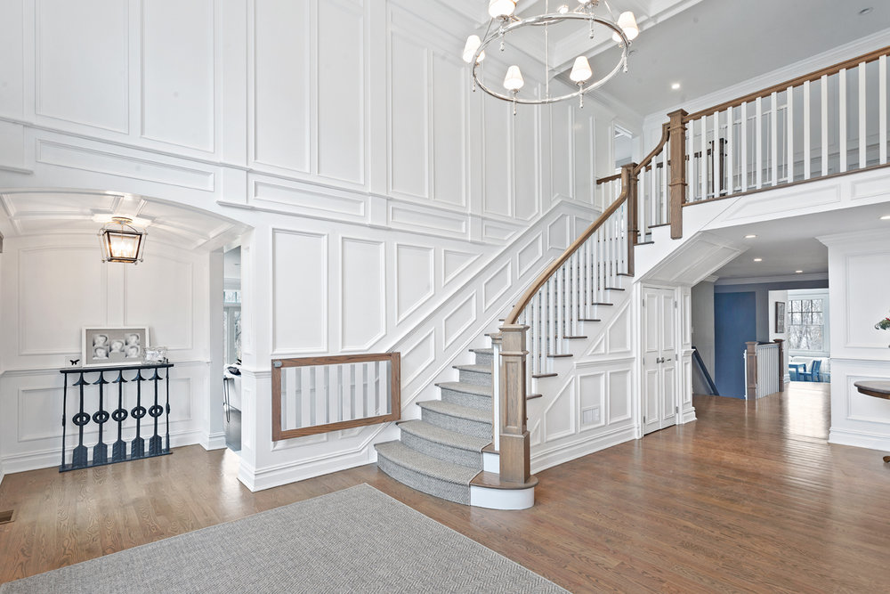 A Simply Stunning Flared Staircase Is The Result Of Working With Mike  Souto, Owner Of Deer Park Stairs.