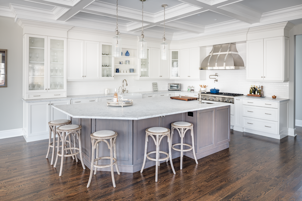 Brookhaven By Wood Mode Cabinetry Is The Anchor Of This Kitchen. The  Modified Shaker Door Style, Edgemont Recessed In Nordic White On Maple,  Surrounds The ...