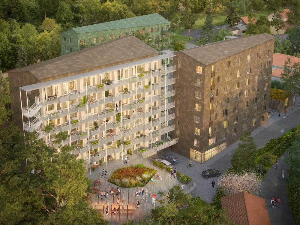 Talltickan, Västerås
