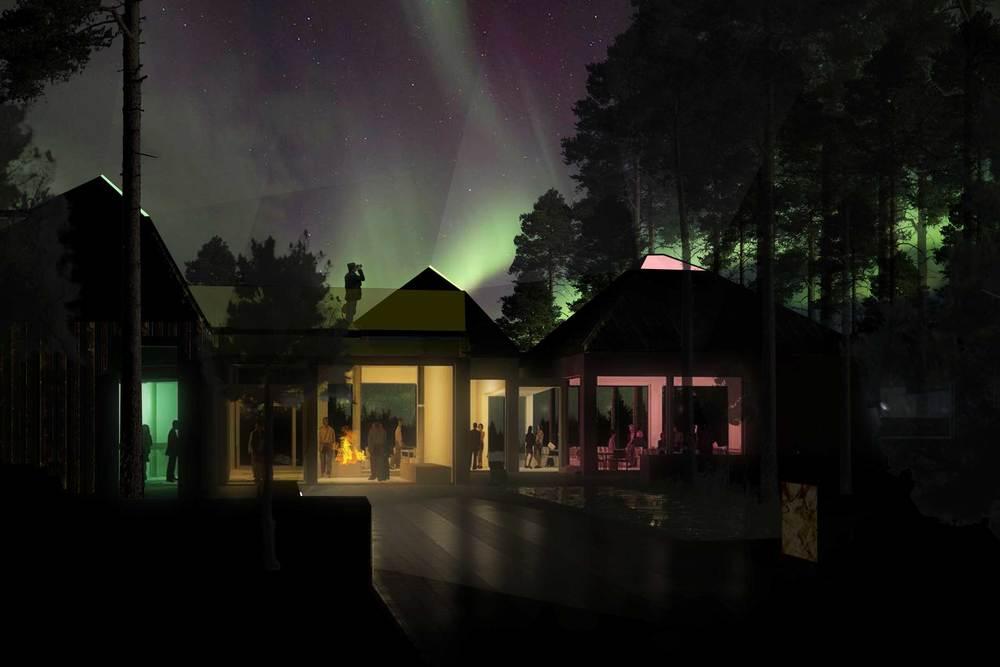 Midnattssolens trädgård, Jokkmokk