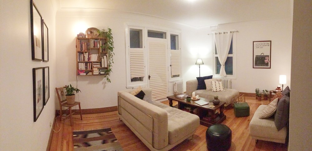 Living Room: 60% done