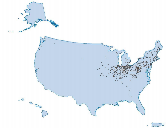 Municipalities in the US operating with a CSS.  US EPA