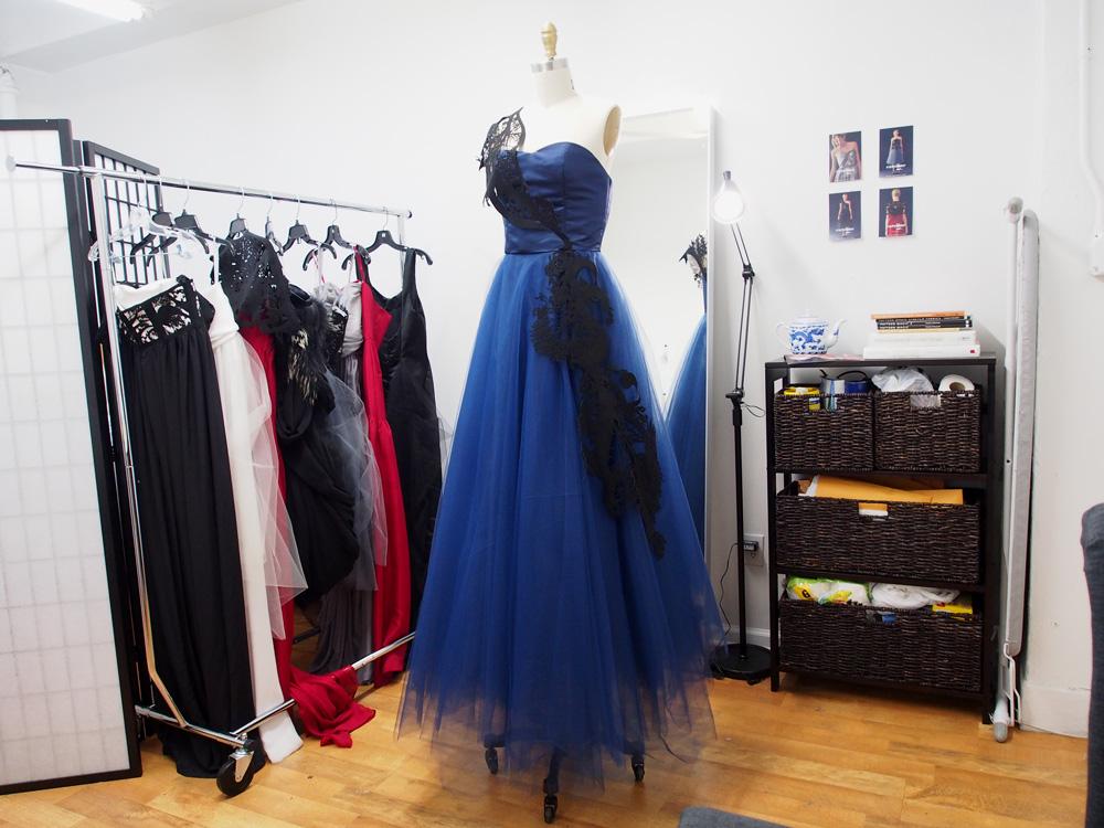 The final dress