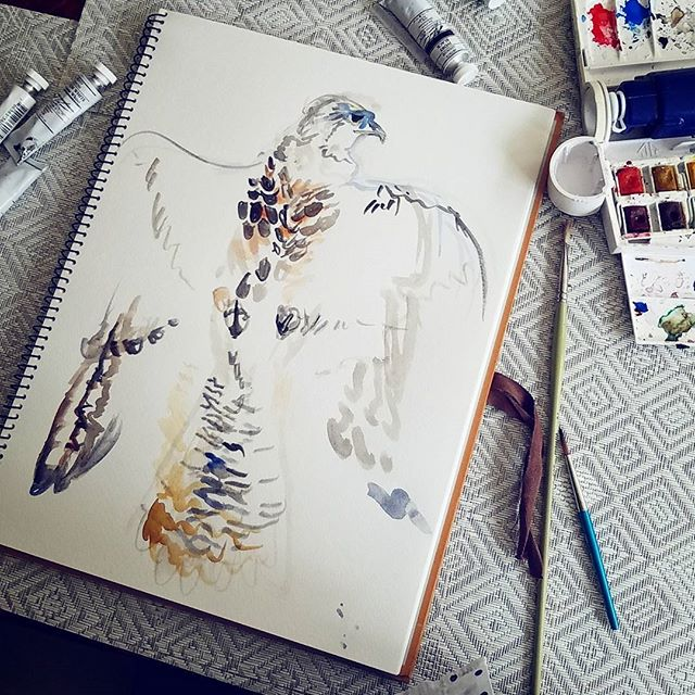 Behind the scenes of print development that I ended up rejecting... but there will be custom prints in the new collection  #watercolor #fashion #illustration #prints