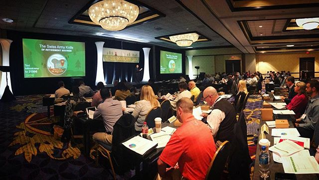 We're live at our first ever IUL Bootcamp here in Atlanta! #AnAllianceForLife