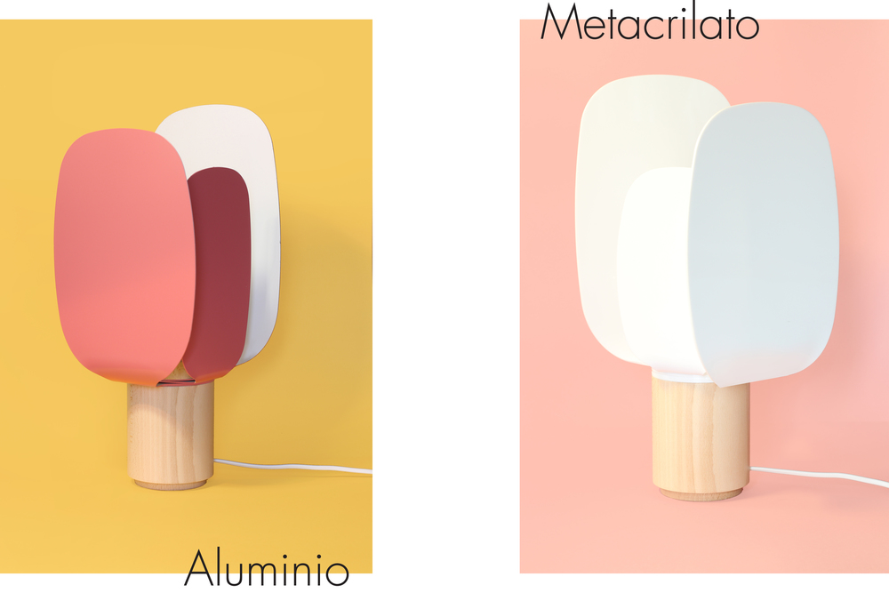 ophelia material aluminium metracilato