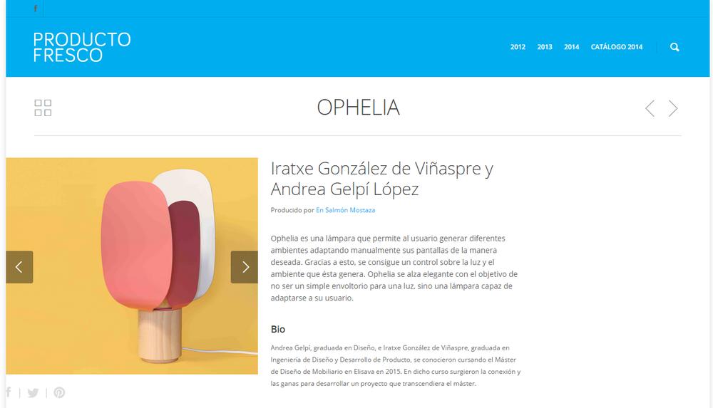 ophelia producto fresco 2015 ophelia
