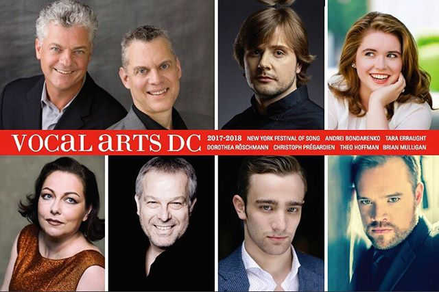 Save the date! I'll make my Kennedy Center debut with Vocal Arts DC on March 20, 2018 accompanied by Brad Moore. Song lives!