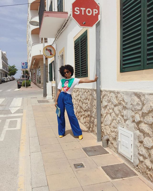 Not a Bajan bus stop, but you should stop and like this anyway. . . . . . #fblogger #fashionblog #style #streetstyle #whatiwore #summerlook #holidaylook #ibiza #whatiwore #blackgirlmagic #streetfashion #blackgirlsblog #blackgirltravel #ootdfashion #blackfashionblogger #styleinspo #naturalista #hair2mesmerize