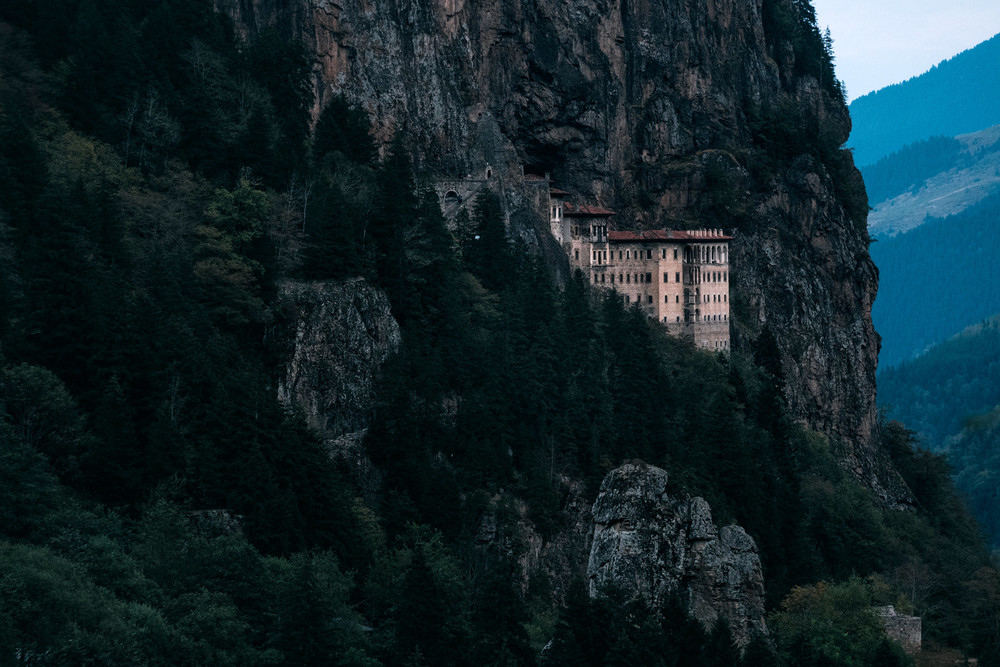 Soumela Monastery, North Turkey