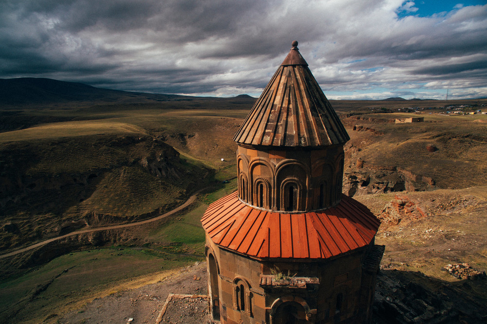Ruins in Ani, Kars area, Turkey