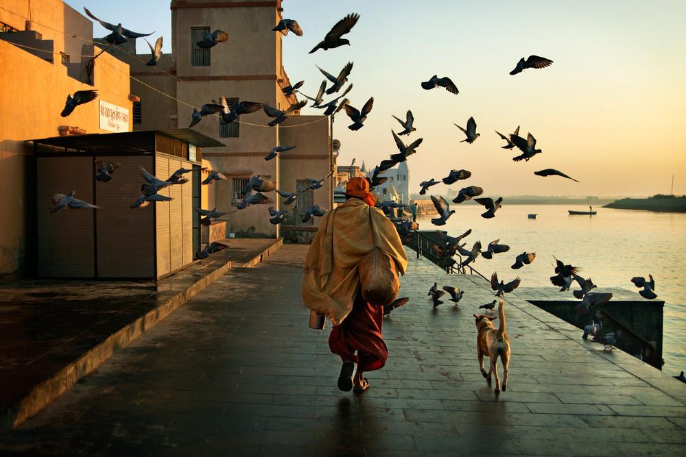 Sadhu in Dwarka Gujarat